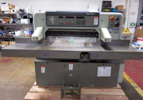 "a photo of Polar 92 (36"") EMC Programmable Paper Cutter"