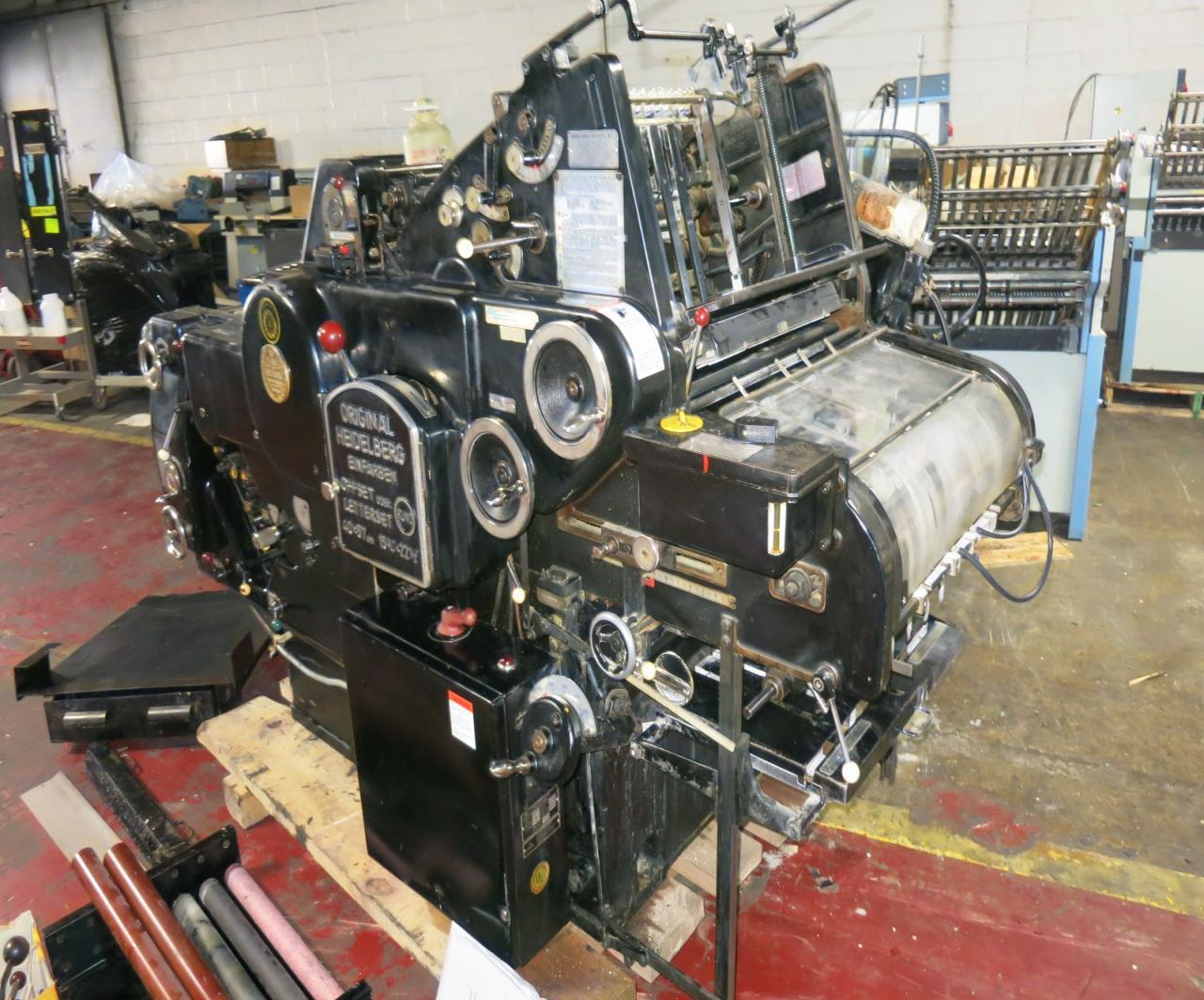 ... Heidelberg Gto 52,Used Heidelberg Single Color Printing Machine,Gto 52