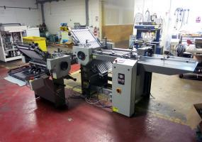 a photo of Baum 2020 Air/Pile Feed Paper Folder with 8 Page