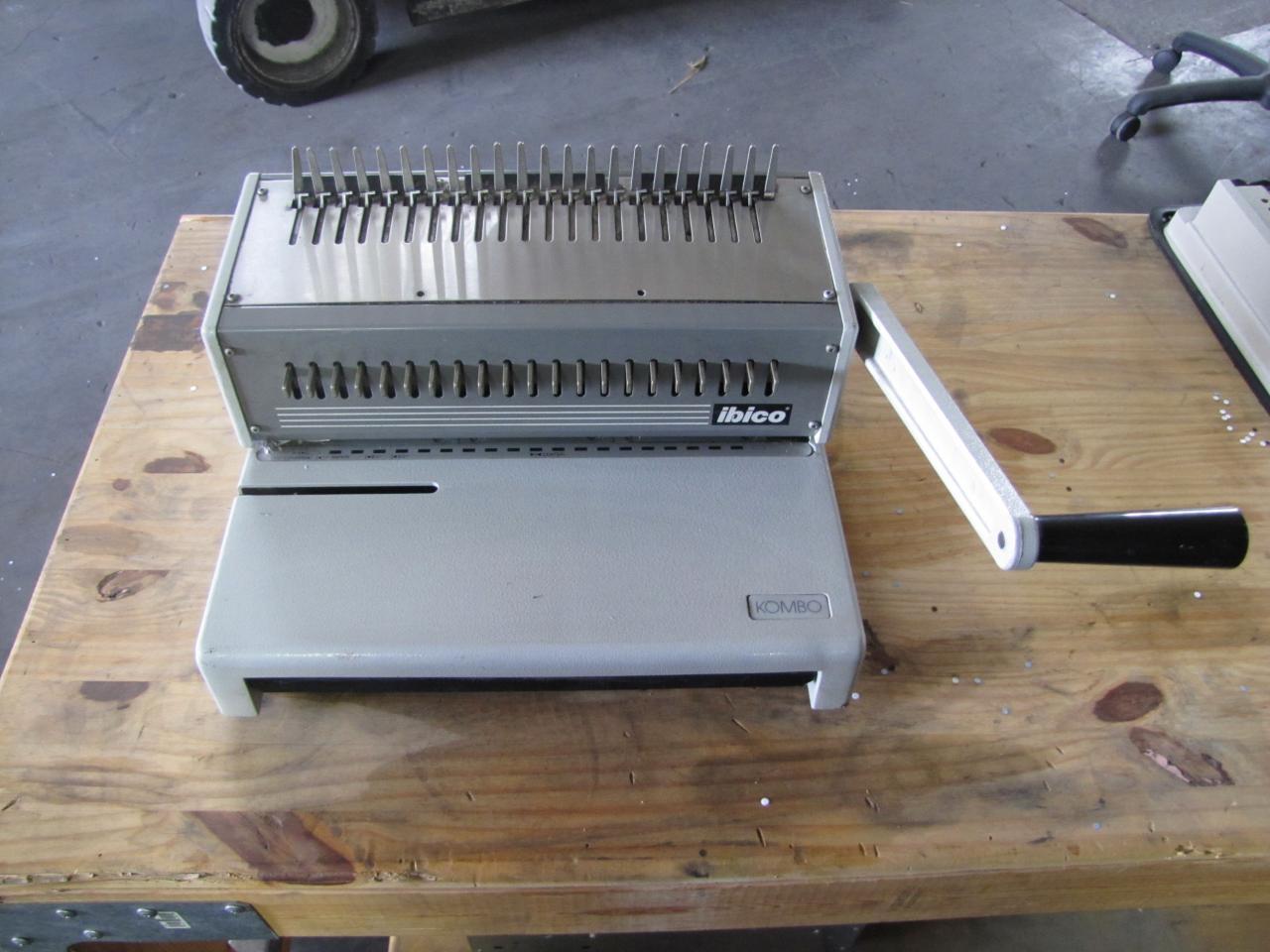 ibico kombo binding machine