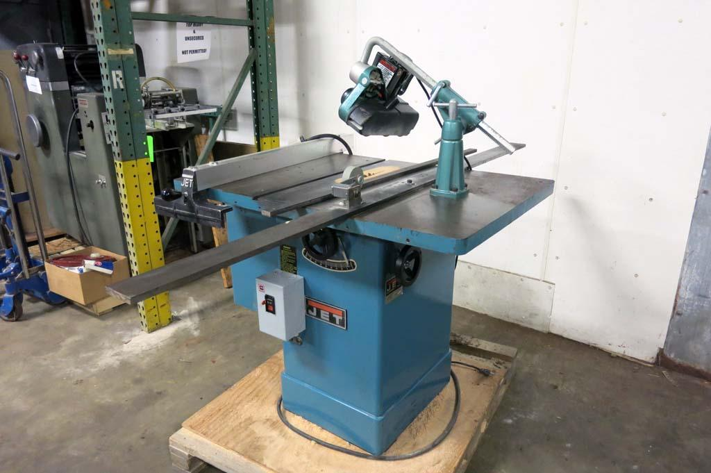 Lot 96 Jet 10 Quot Tilting Arbor Cabinet Table Saw W