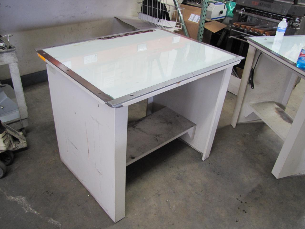 lot 32 nuarc vlt42f light table 42 quot x 30 quot wirebids