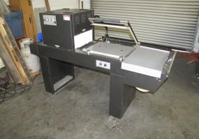 a photo of Preferred Packaging PP1518ECM Shrink Wrap Combo System (Very Clean)