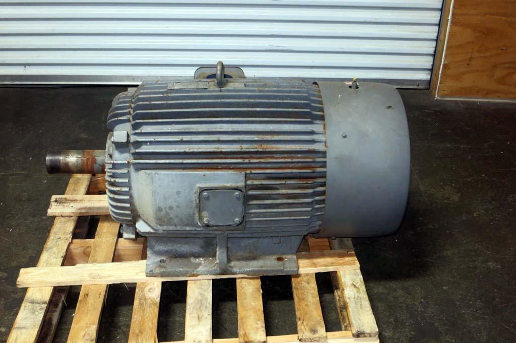 Lot 87 100 hp electric motor wirebids for 100 hp dc motor