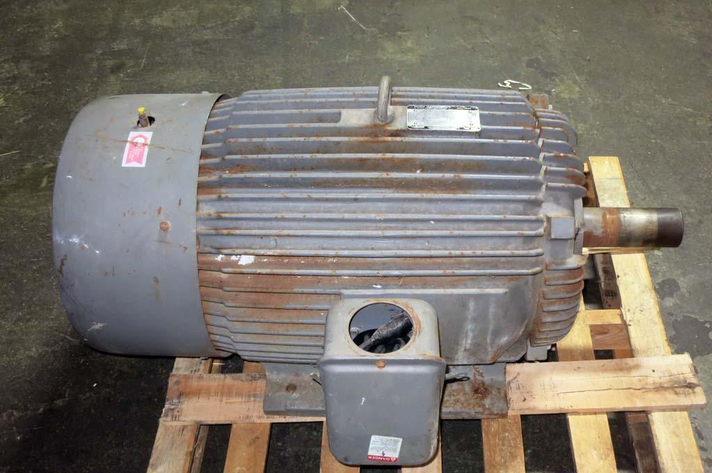 Lot  87  100 Hp Electric Motor