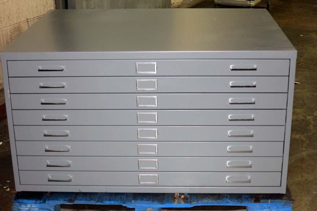 lot #70: brand new blueprint file cabinet - wirebids