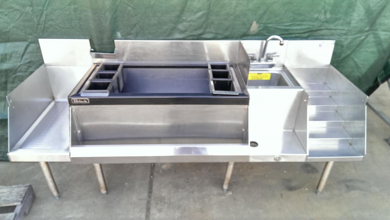Lot 1 Perlick Underbar Cocktail Unit With Ice Bin