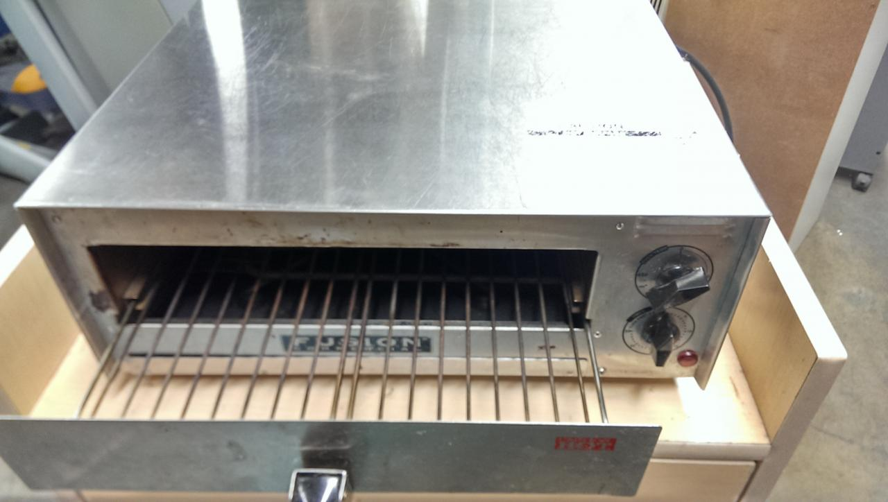 Fusion Commercial Countertop Pizza Oven : Fusion Commercial Deluxe Model 508 Electric Countertop Pizza and Snack ...