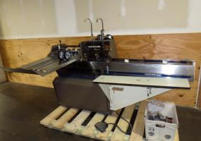 a photo of Rosback 201A Book Binding Saddle Stitcher