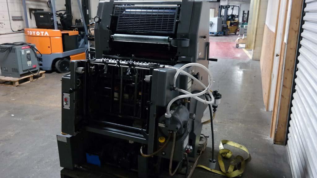 Lot #27: 1986 Heidelberg GTO 52 Single Color Printing Press - WireBids