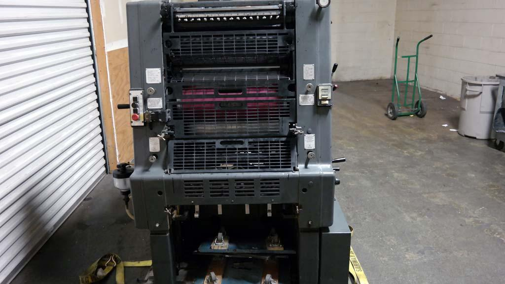 2014 GTO 52 Used Heidelberg Single Color Offset Printing Machine For ...