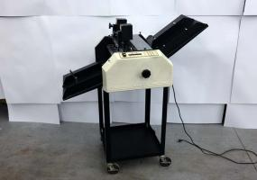 a photo of Graphic Whizard Model K2 Numbering, Perfing, Sliting, Scoring Machine w/ Two Numbering Heads