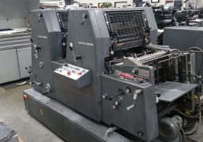 a photo of 1989 Heidelberg GTOZP-52 2-Color Offset Printing Press