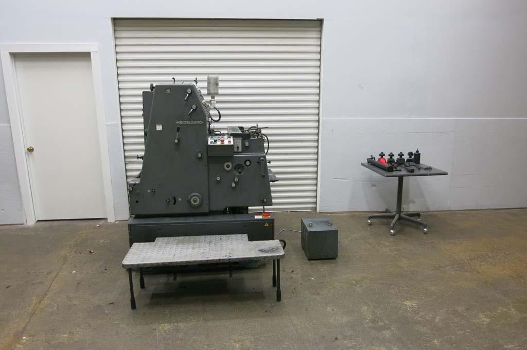heidelberg gto 52 single color printing press single color 36x52cm 14 ...