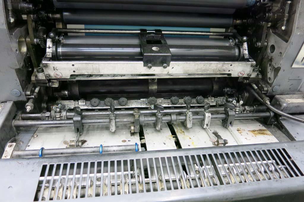 43 1987 Heidelberg GTO 52 Single Color Printing Press - 24 Million ...