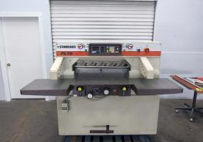 """a photo of Standard FL 76 Paper Cutter - 30"""" Cutting Width - Air Bed"""