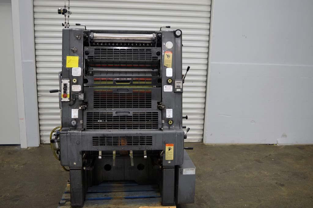 Lot #14: Heidelberg GTO 52 Single Color Printing Press - WireBids