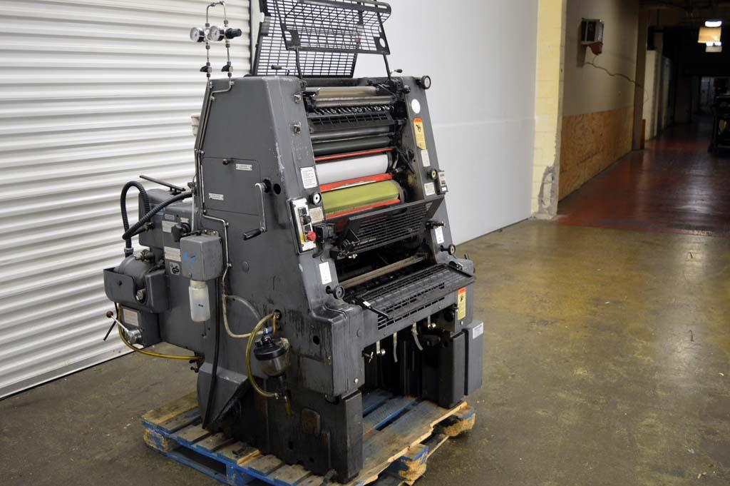 ... Used offset printing machines HEIDELBERG GTO 52-1 SINGLE COLOUR OFFSET