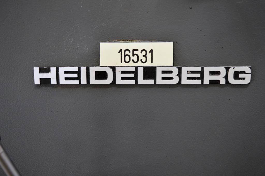 Single colour Used offset printing machines HEIDELBERG GTO 52-1 SINGLE ...