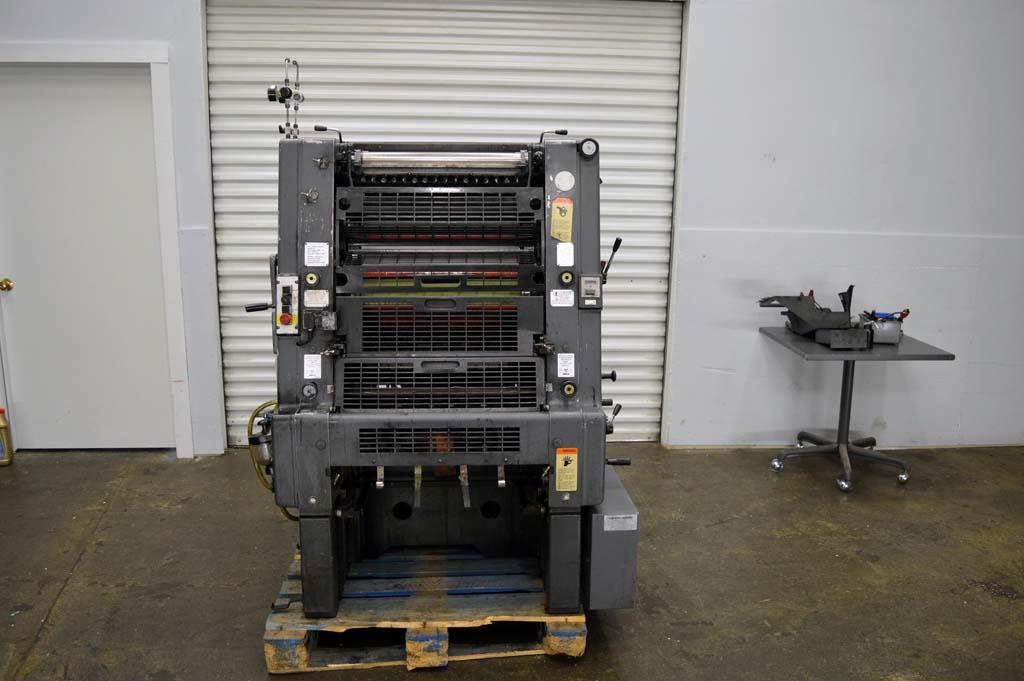 ... Heidelberg GTO 52-1. Single Color Offset Machine, Max. 36 x 52 cm