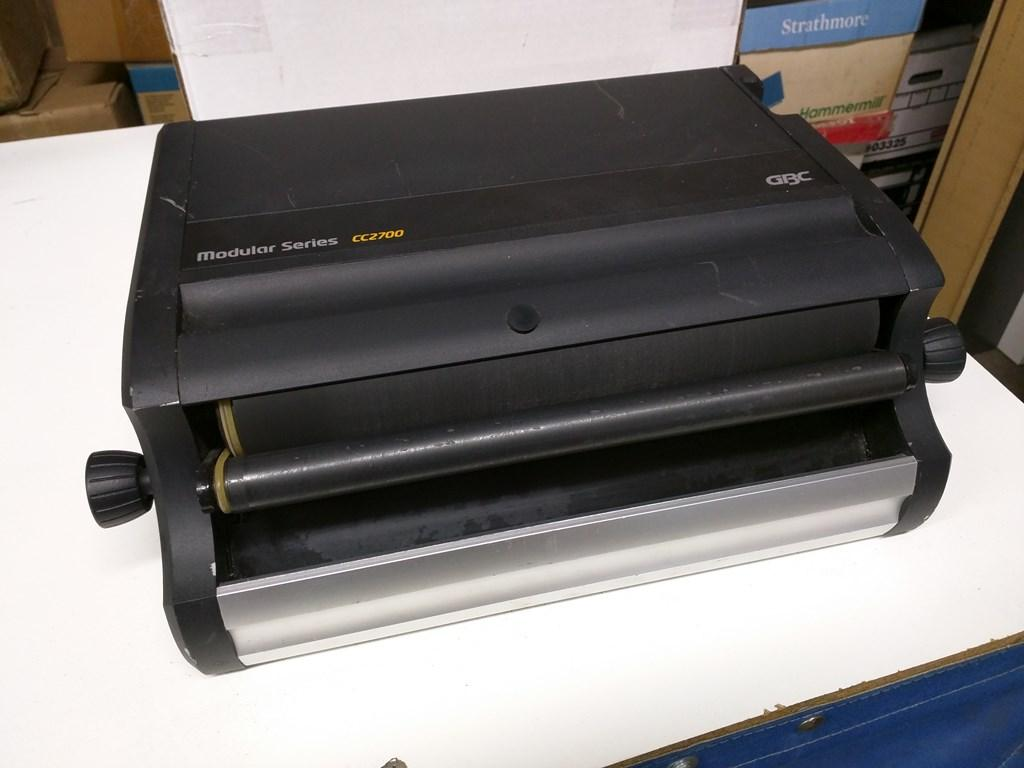 gbc cc2700 coil binding machine