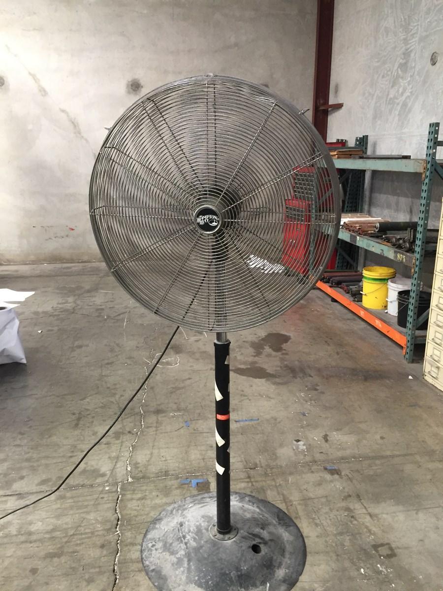 Hampton Bay High Velocity Fan : Lot industrial heavy duty high velocity pedestal shop