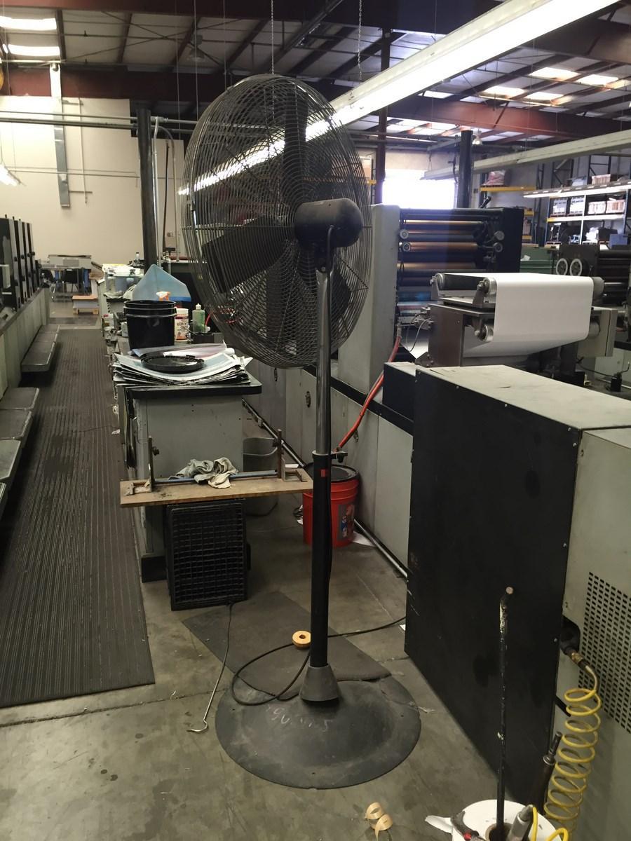 Lot 24 Industrial Heavy Duty High Velocity Pedestal Shop