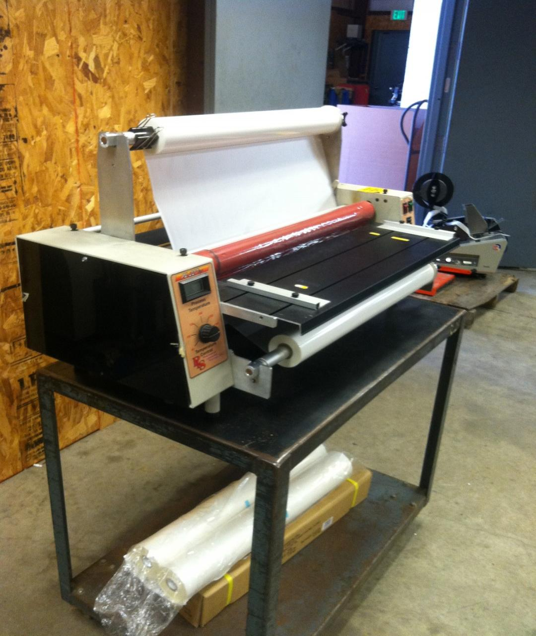 Lot 101 Professional Laminating System Pl227hp 27