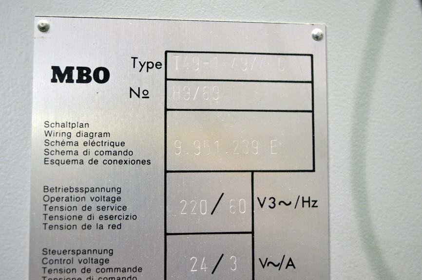 lot mbo x continuous feed paper folder page mbo 20 x 28 continuous feed paper folder 8 page and roll