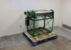 """a photo of Potdevin Z Type 32"""" Gluing Machine with Speed Control"""