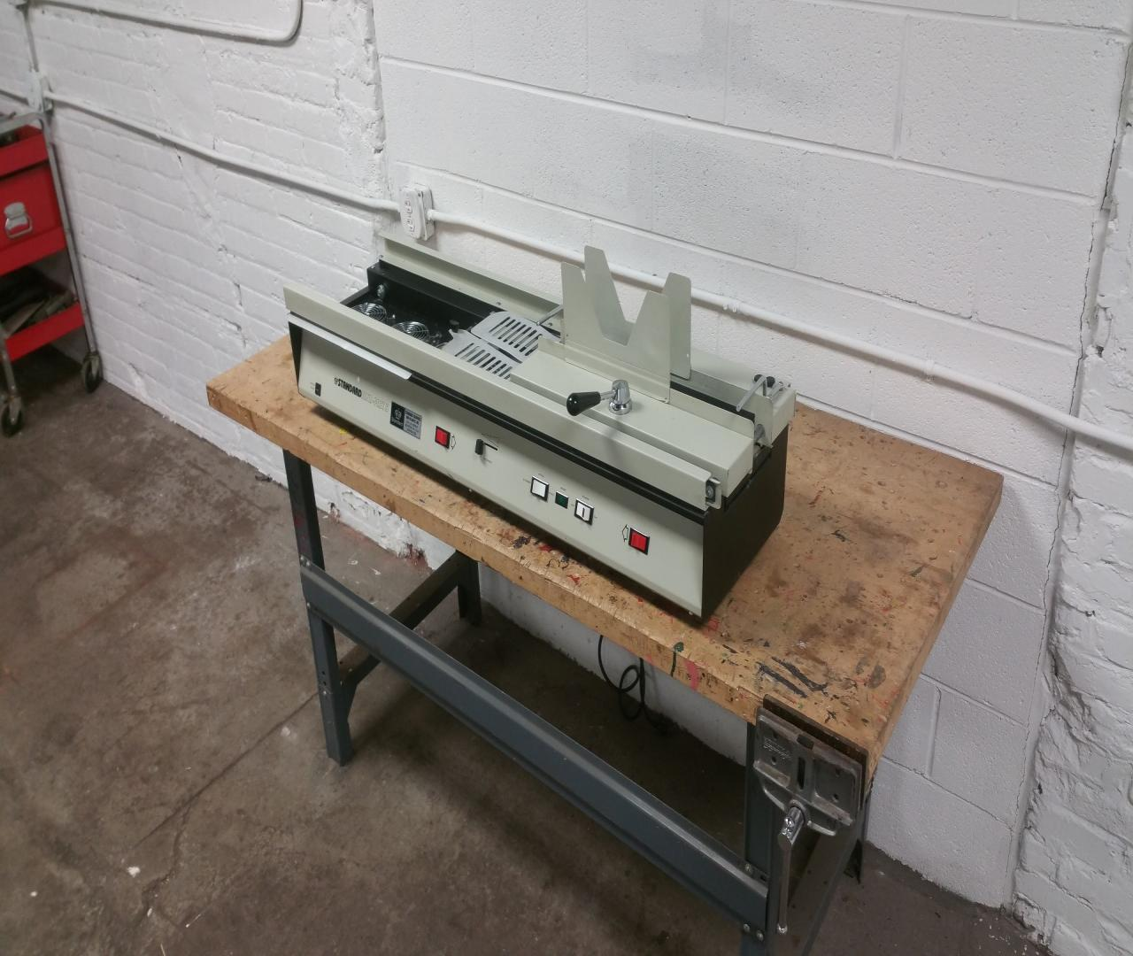Lot #14: Standard Bindfast 5 Book Binding Machine