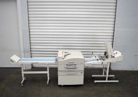 a photo of Okidata  MPS9650C Laser Printer W/ feeder and Stacker