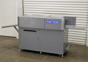 a photo of Duplo DC-645 Heavy Duty Slitter/Cutter/Creaser - Click here to see VIDEO!