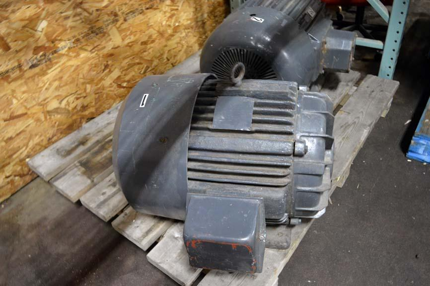 Lot 130 Delco 60 Hp Electric Motor 230v 3 Phase Wirebids