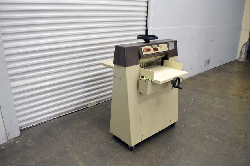 challenge model 20 paper cutter manual