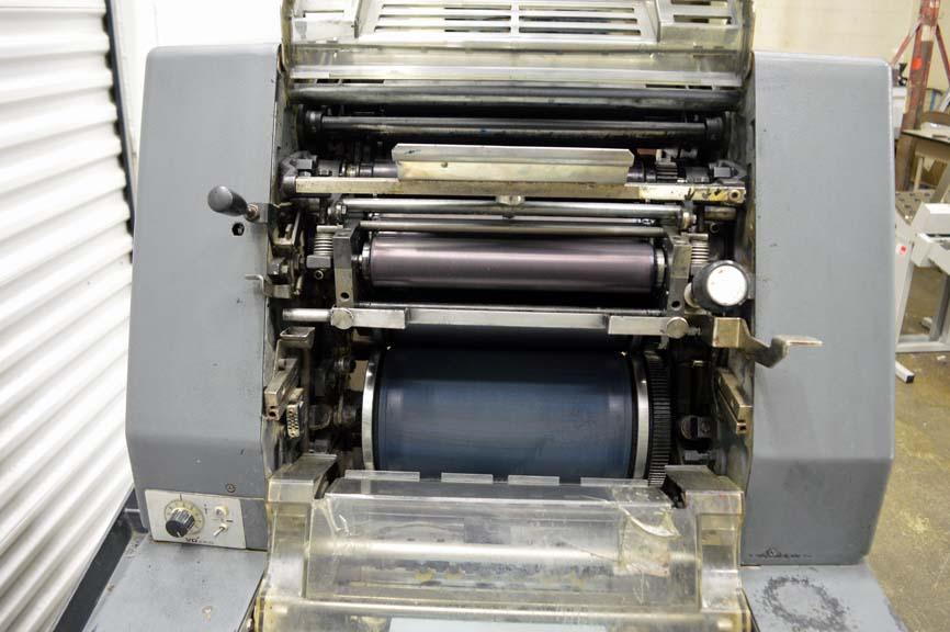 Lot #43: Heidelberg KOR Single Color Offset Printing Press - WireBids