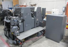 a photo of 1991 Heidelberg GTOZP w/ Alcolor & Royce Refrigeration- With Manuals