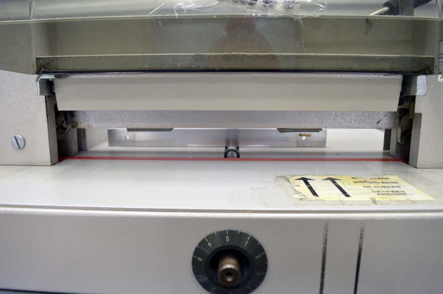 triumph paper cutter repair manual