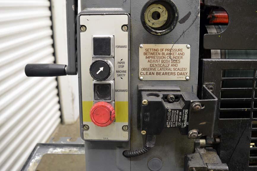 Lot #22: Heidelberg GTO 52 Single Color Printing Press - WireBids