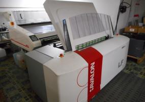 a photo of 2006 Agfa Avalon Model LF CTP with inline Elantrix 125 Plate Processor (Ships from Maryland)