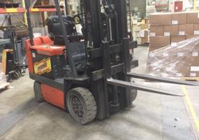a photo of Toyota Electric Forklift Truck - Canton, MA