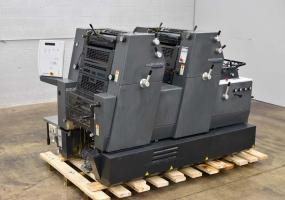 a photo of 2002 Heidelberg Printmaster 52 Two Color Offset Press