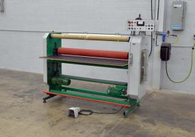 "a photo of SallMetall 1400 - 55"" Laminator Machine - Click Here for Video!"