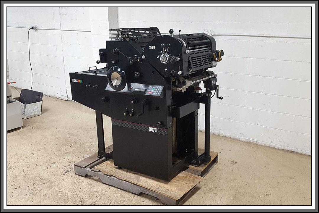 ab dick 9870 service and technical manual
