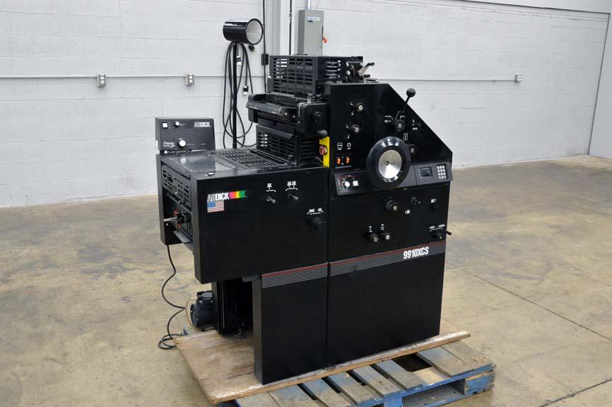 Ab dick 9910 offset press