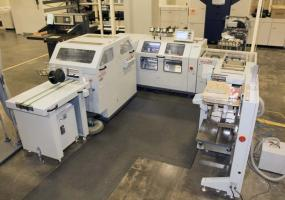 a photo of 2012 Standard Horizon HOF-400 + Stitchliner 5500 - Click Here for Video!