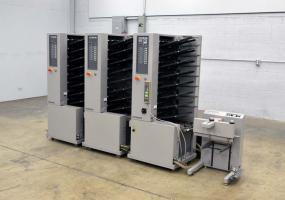 Standard Horizon Air Feed Three Tower Collating Sytem with Stacker