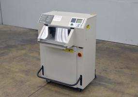 1998 Challenge Titan 200 Hydraulic Programmable Paper Cutter - Click Here for Video!