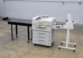 OkiData PRO930 Color Printer with Feeder and Conveyor - Click for Video!