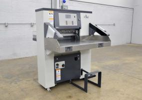 2014 Polar Mohr 56 ECO 22″ Paper Cutter - Only 2556 Cuts on this Machine! - Click for Video!
